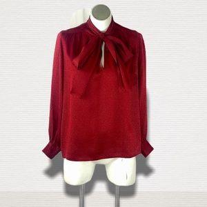 Vintage Ysl Saint Laurent rive gauche silk blouse